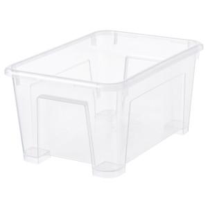 Kleine Kunststoff-Box