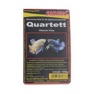 Frostfutter Quartett 100g