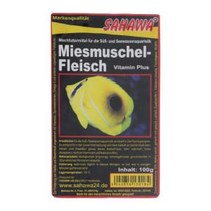 Frostfutter Miesmuschelfleisch 100g