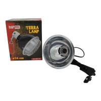 "Lampenklemmhalterung mit Gitter ""ClampLamp"" 14cm"